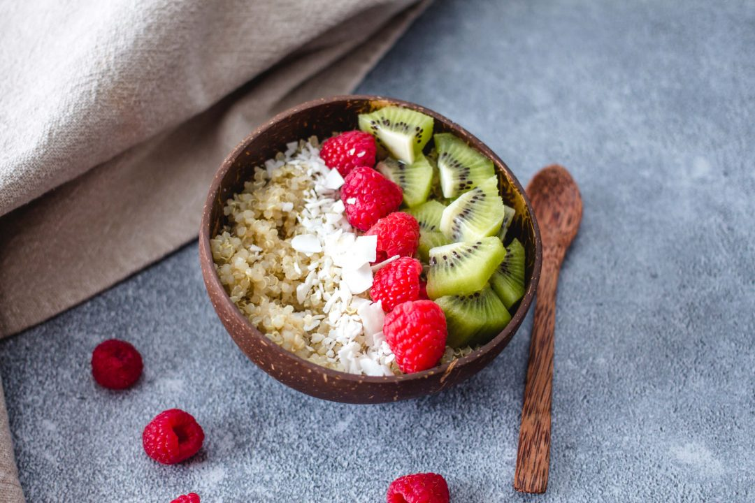 Sweet Quinoa Breakfast Bowl