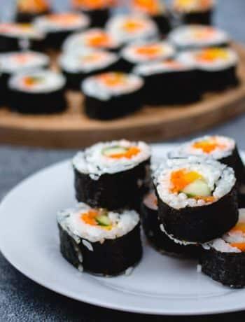 Vegan Makizushi-Style Sushi