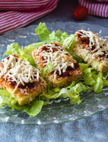 Vegan Tofu Parmesan