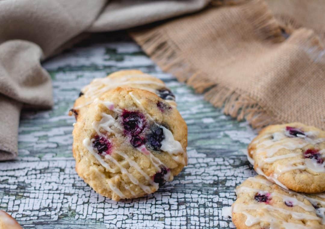 Vegan Blackberry Cookies