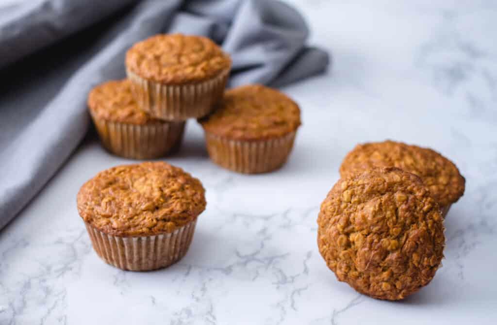healthy vegan bran muffins