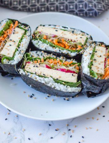 Vegan Sushi Sandwich