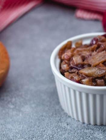 Vegan Onion Marmalade (Savory Spread)