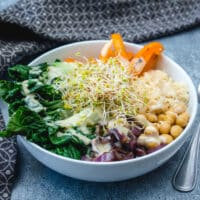 Fresh Chickpea Buddha Bowl