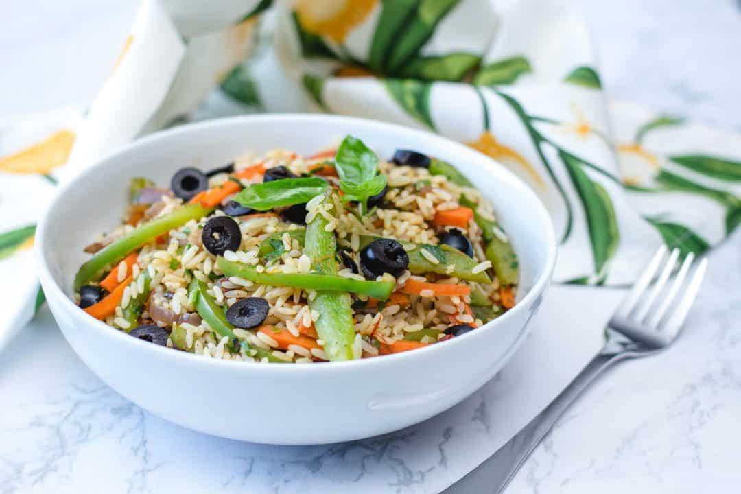 One-Pan Spanish Vegan Paella