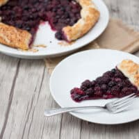Easy Rustic Summer Berry Pie
