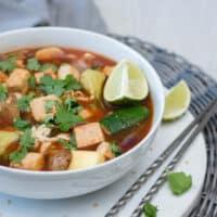Easy Tofu Ramen Soup