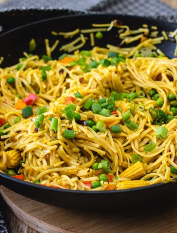 Vegan Asian Veggie Noodles