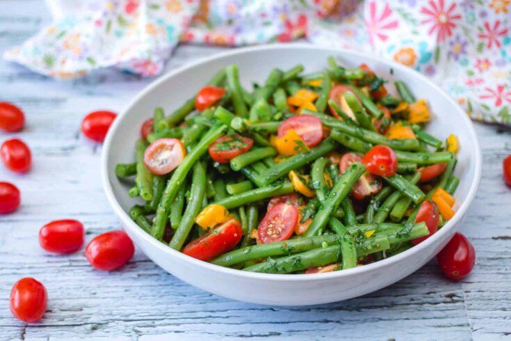 green bean salad 1 scaled