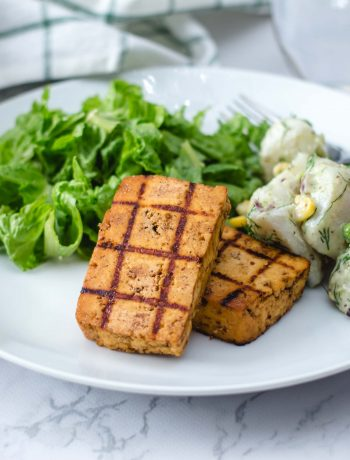 Grilled Barbecue Tofu