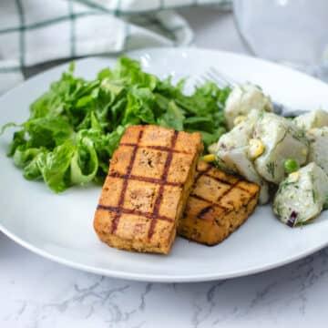 Grilled Barbecue Tofu