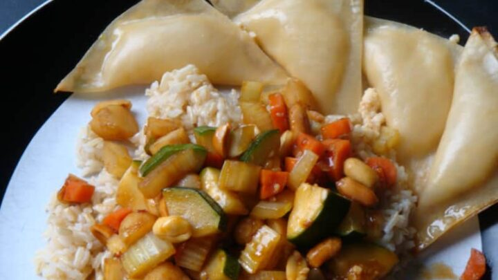 Copy of Baked rangoons and kung pao.resize