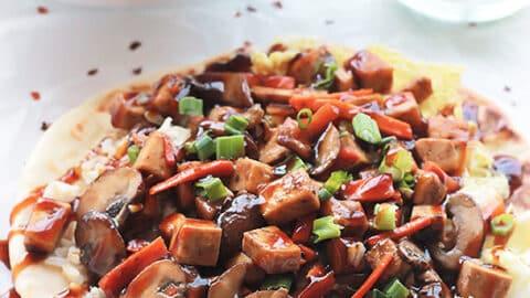 FG Teriyaki Tofu Stir fry