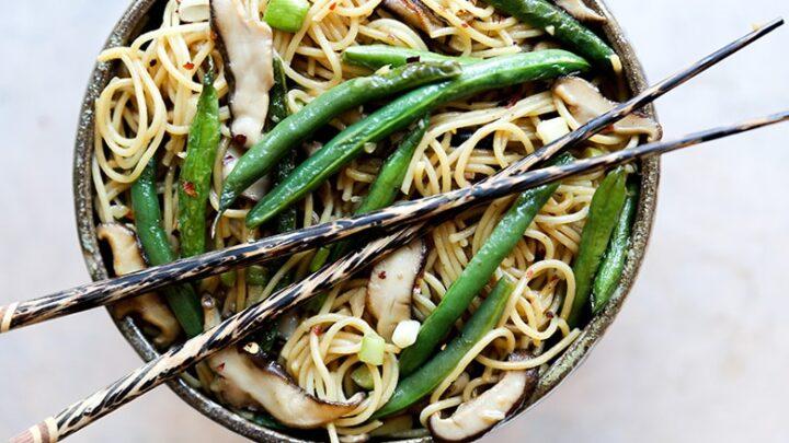 Green Bean Noodle Stir Fry 3