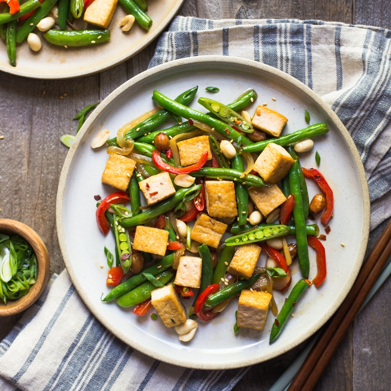 Kung Pao Tofu Stir Fry FF2