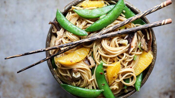 Noodle Vegetable Stir Fry 1