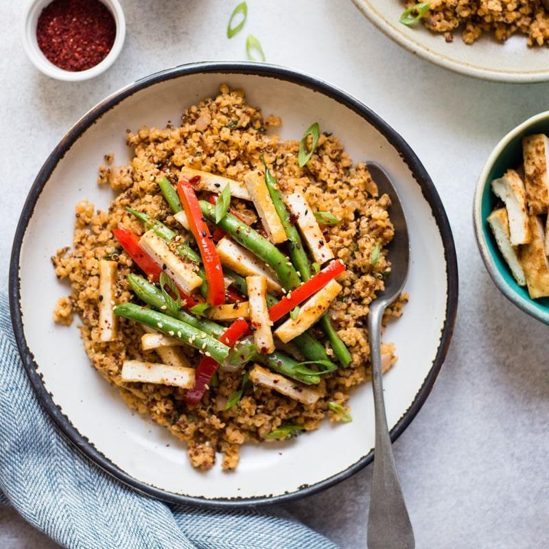 Red Curry Quinoa FF
