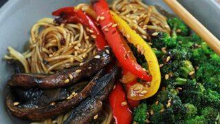 Spicy Ramen Mushroom Stir Fry400
