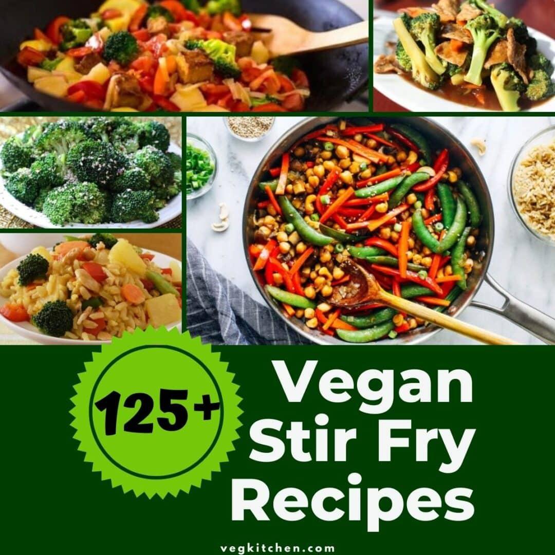 best vegan stir fry recipes