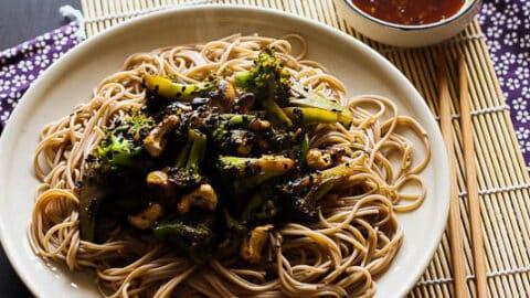 brocoli cashew stirfry