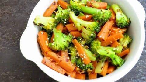 carrot broccoli stirfry subzi 1 1