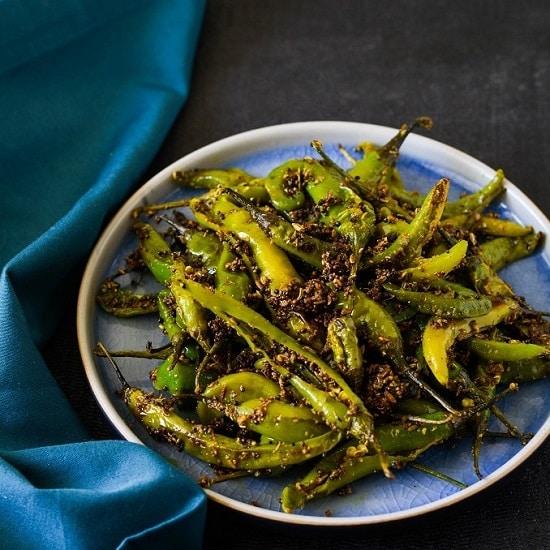 green chili fry chukki hari mirch 1