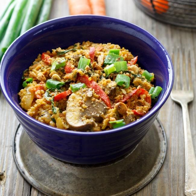 quinoa bok choy stir fry 2 sq cmp