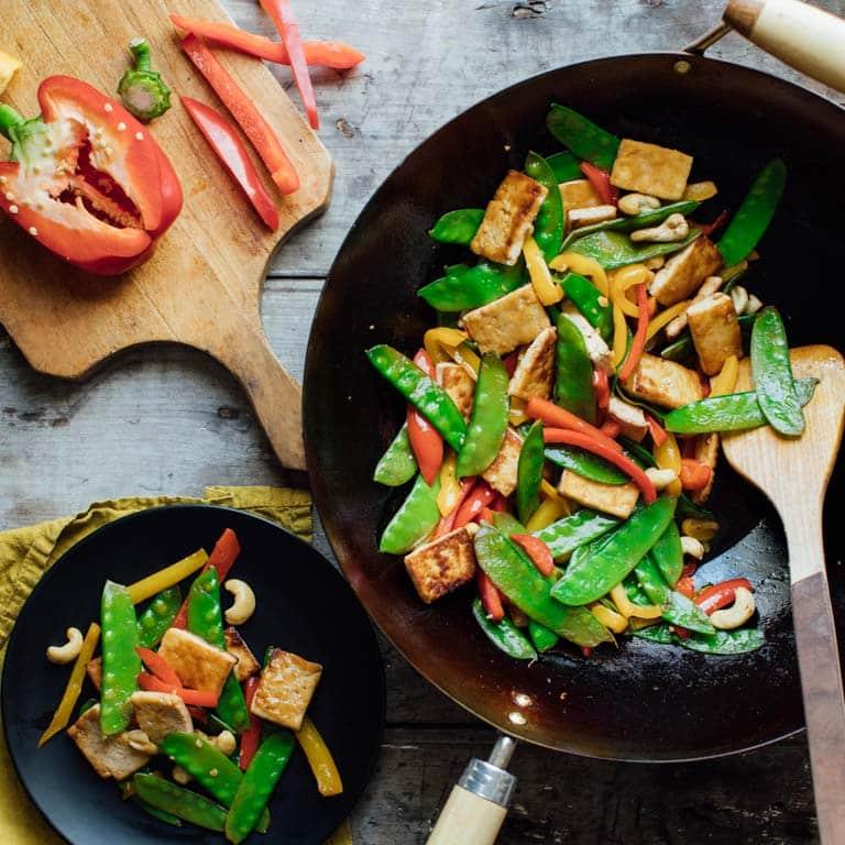 tofu pepper stir fry with cashews sq 1