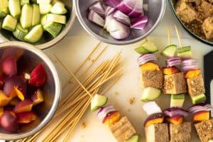 tofu kebabs