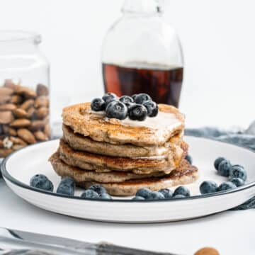 vegan almond flour pancakes