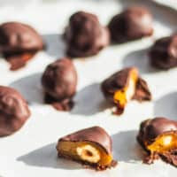Vegan homemade chocolates