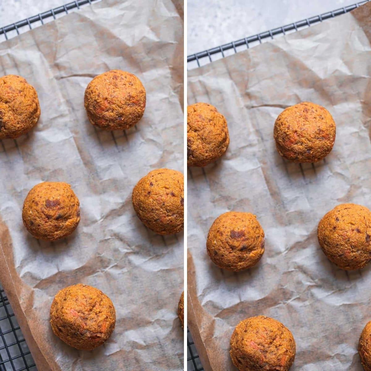 vegan carrot cake bliss balls
