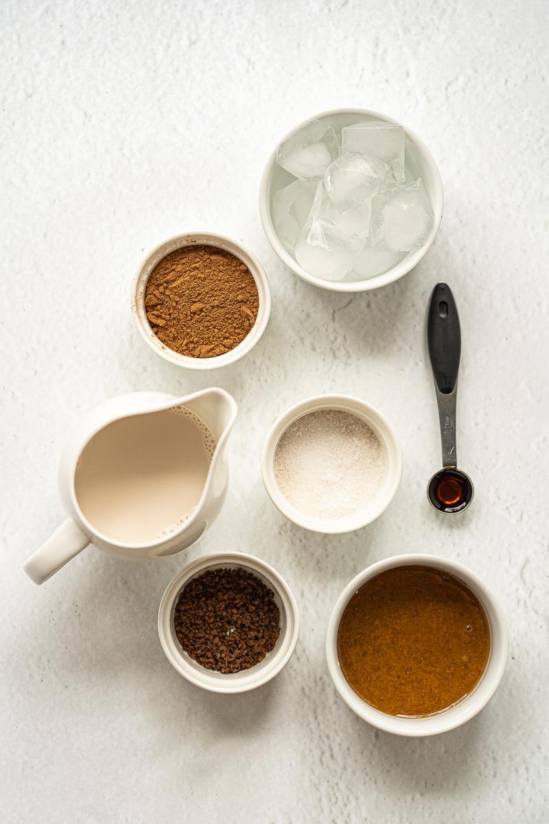 vegan chocolate shake ingredients