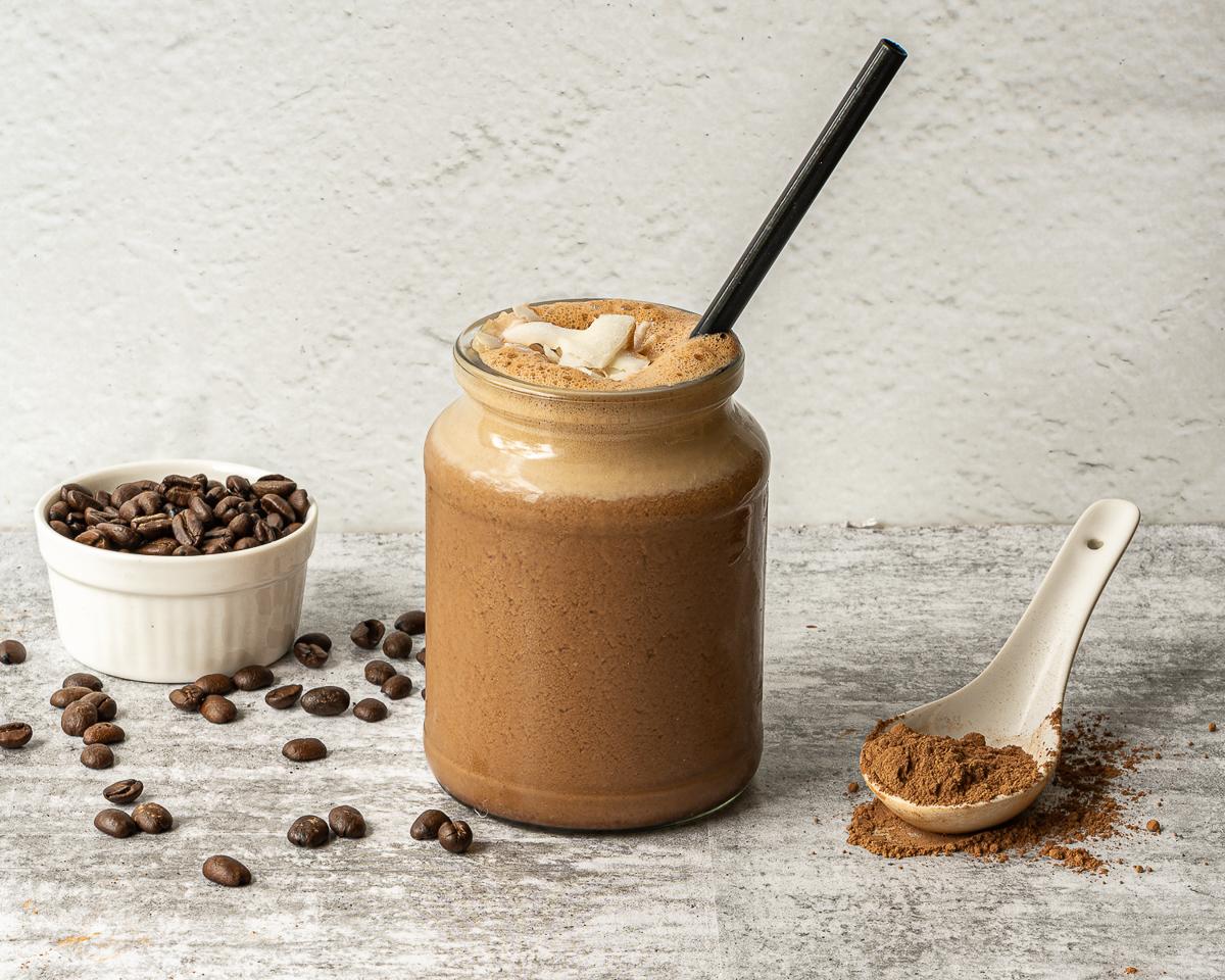 vegan chocolate shake