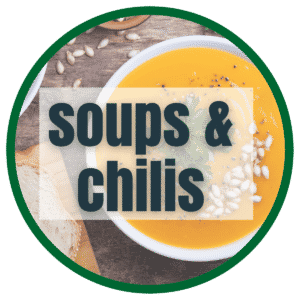 vegan soups and chilis