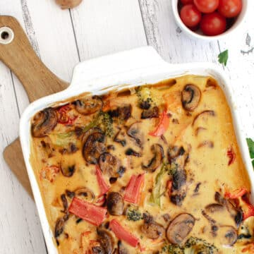 Cheesy Roasted Vegetables