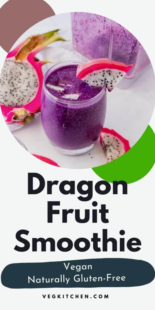 dragon fruit smoothie