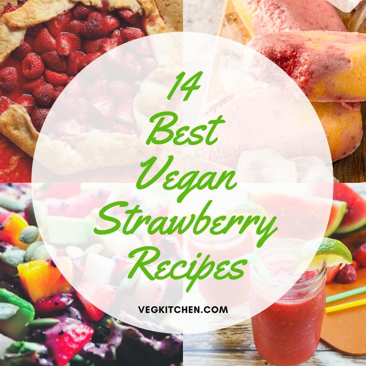 vegan friendly strawberry recipes