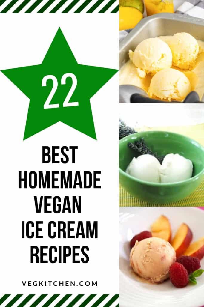 vegan friendly ice cream recipes