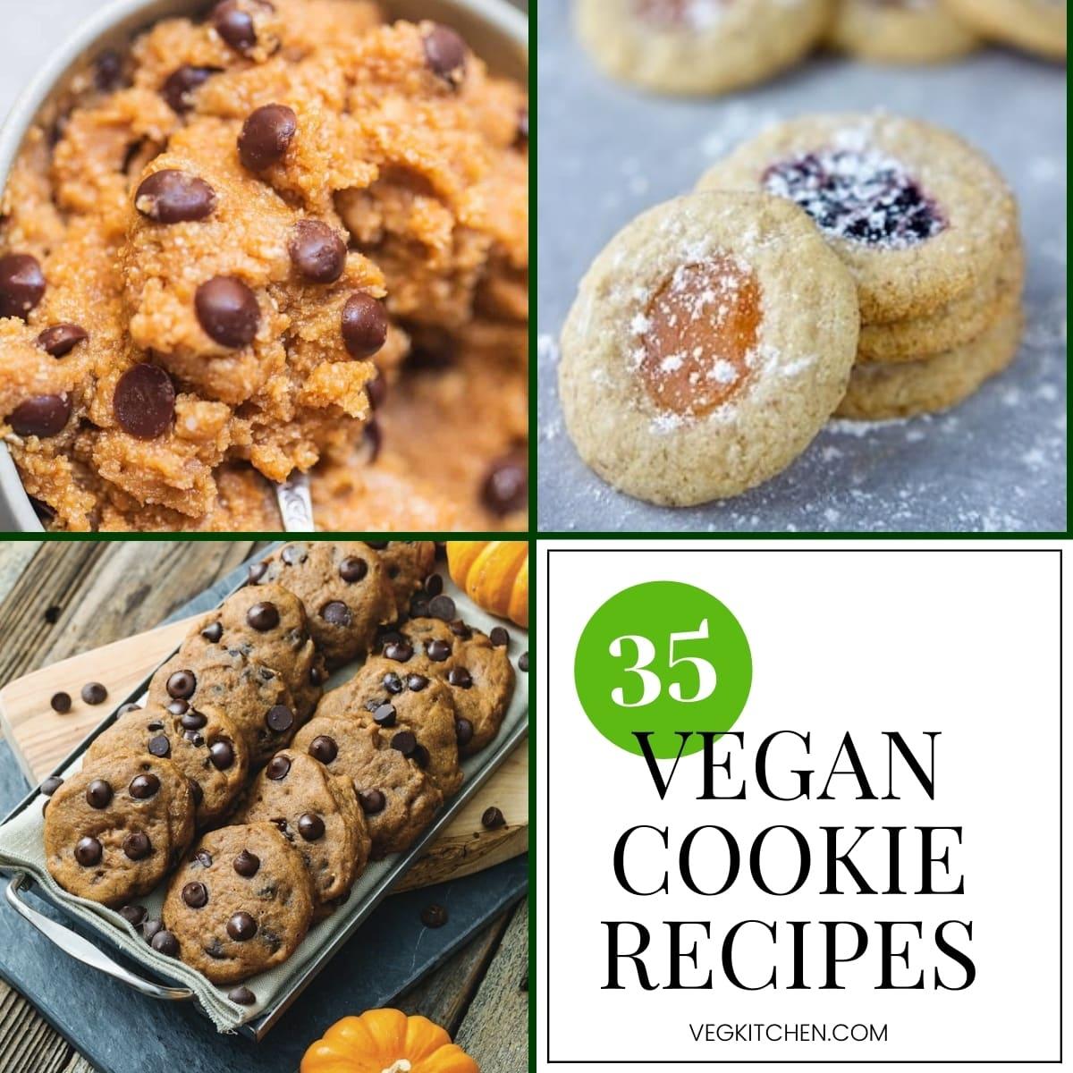 35 vegan cookie recipes