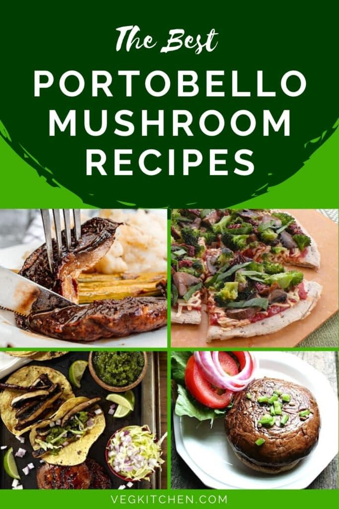 recipes featuring portobello mushrooms