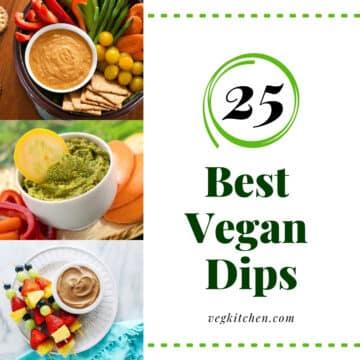 vegan dip recipes