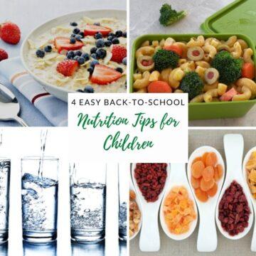 nutrition tips for kids
