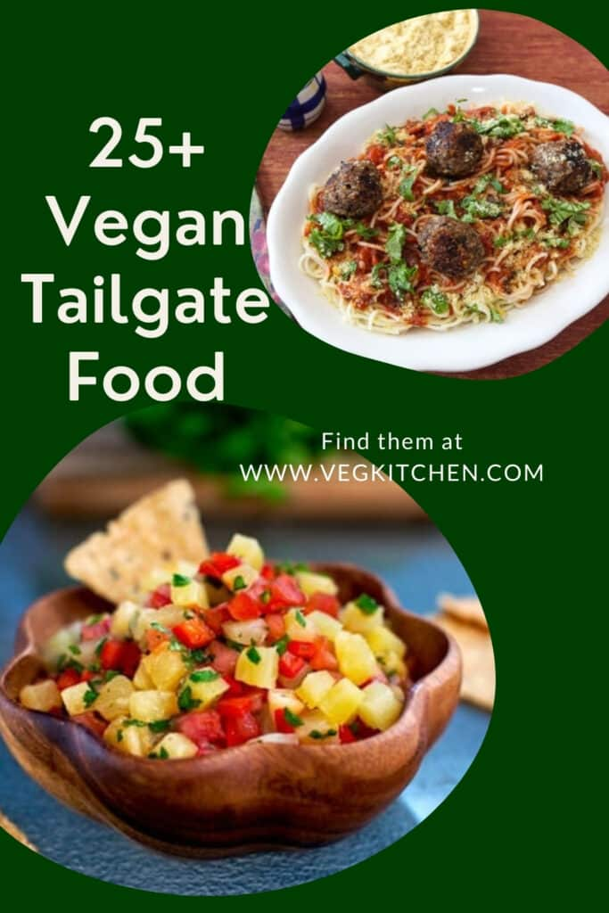 vegan tailgate recipes