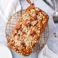 oat flour banana bread